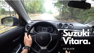 Suzuki Vitara  2018 1.6 VVT 120 HP 4WD 4K | POV Test Drive #098 Joe Black