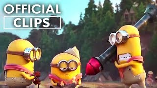 """""""Blow Up The Dam"""" - MINIONS Clip (2020)"""