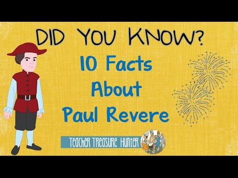 10 Facts About Paul Revere