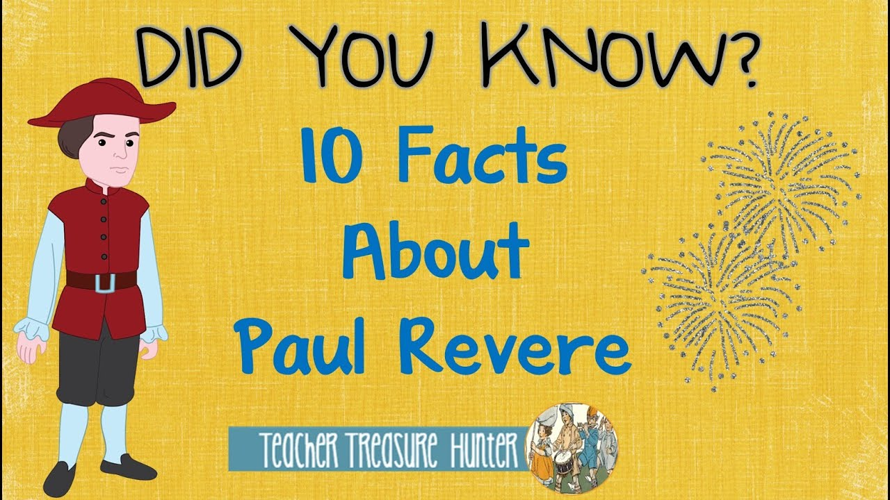 10 Facts About Paul Revere - YouTube