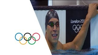 Matt Grevers (USA) Wins 100m Backstroke Gold - London 2012 Olympics