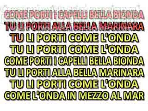 COME PORTI I CAPELLI - ROSETTA MIX KARAOKE