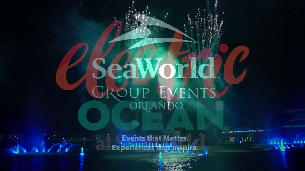 Electric Ocean Nighttime Group Events | SeaWorld Orlando