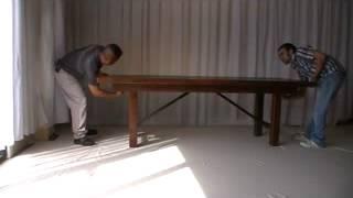 Misa Bella Designs Farm Table Installation