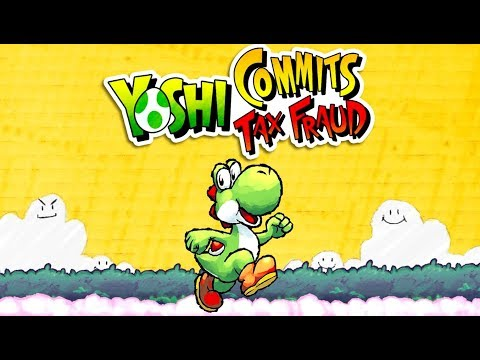 Yoshi Commits Tax Fraud - The Video Game Origin Story + BONUS MEME