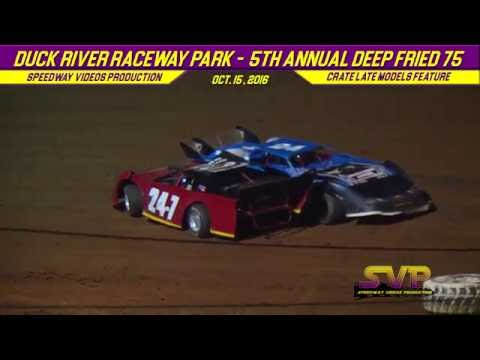 Duck River Raceway Park   CRATE LATE MODELS   0ct 14 / 15 , 2016