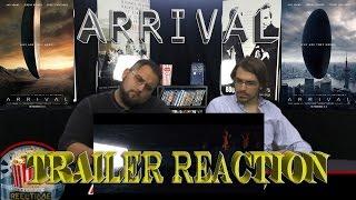 ReelTime Reaction: ARRIVAL Trailer Reaction