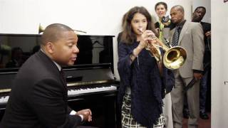 Wynton Marsalis - Behind the scenes in Abu Dhabi