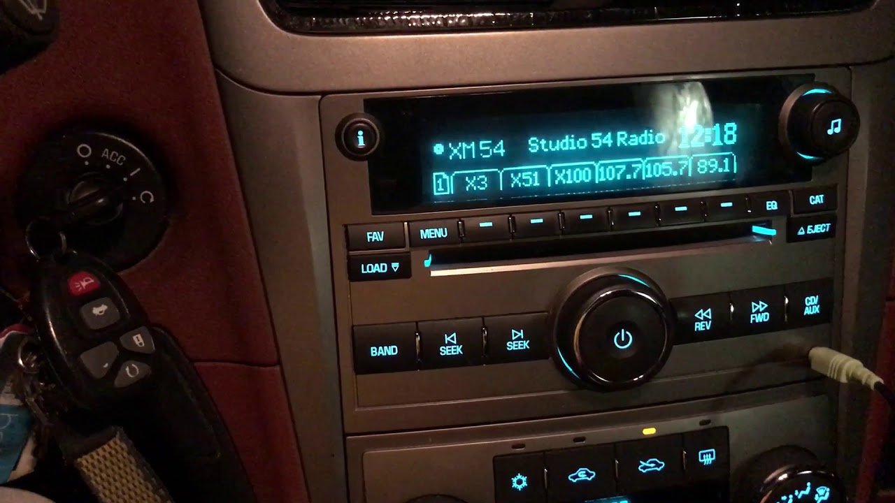 gm radio auxiliary input fix and repair [ 1280 x 720 Pixel ]
