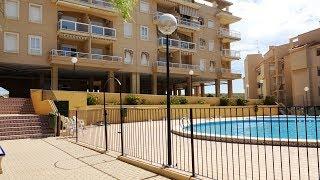 Квартира в Santa Pola, Аликанте, Испания, парковка, бассейн, 2 спальни. Недвижимость в Испании