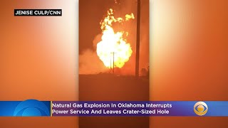 Natural Gas Explosion In Oklahoma Interrupts Power Service, Leaves Crater-Sized Hole