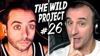 The Wild Project #26 ft Claudio Serrano - La voz de BATMAN | Ytbers que