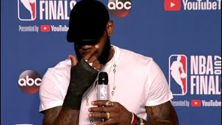 LeBron Tells How He Broke His Hand After Game 1 2018 NBA Finals