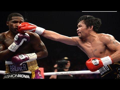 24 Oras: Manny Pacquiao - Adrien Broner punch statistics