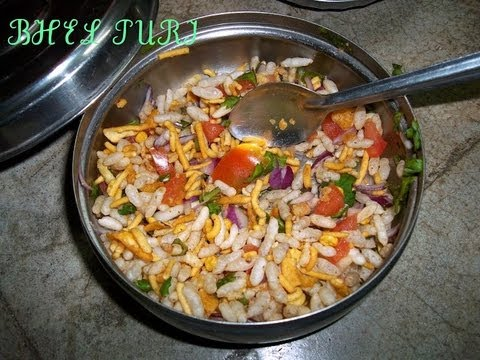 bhel puri - simple and easy
