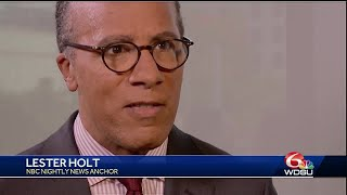 NBC's Lester Holt talks women in politics during Essence weekend