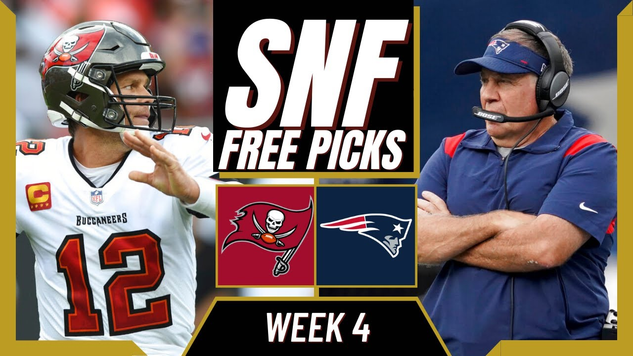 Sunday Night Football odds, spread, line: Patriots vs. Buccaneers ...