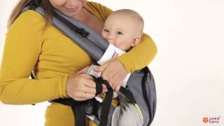 Love&Carry AIR baby carrier. Hip carry instructions