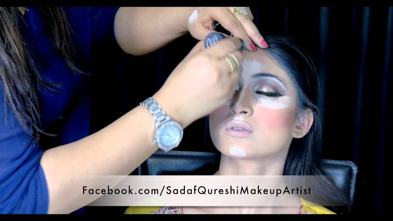 Asian Mehndi Look By Sadaf Qureshi 4k Video Youtube