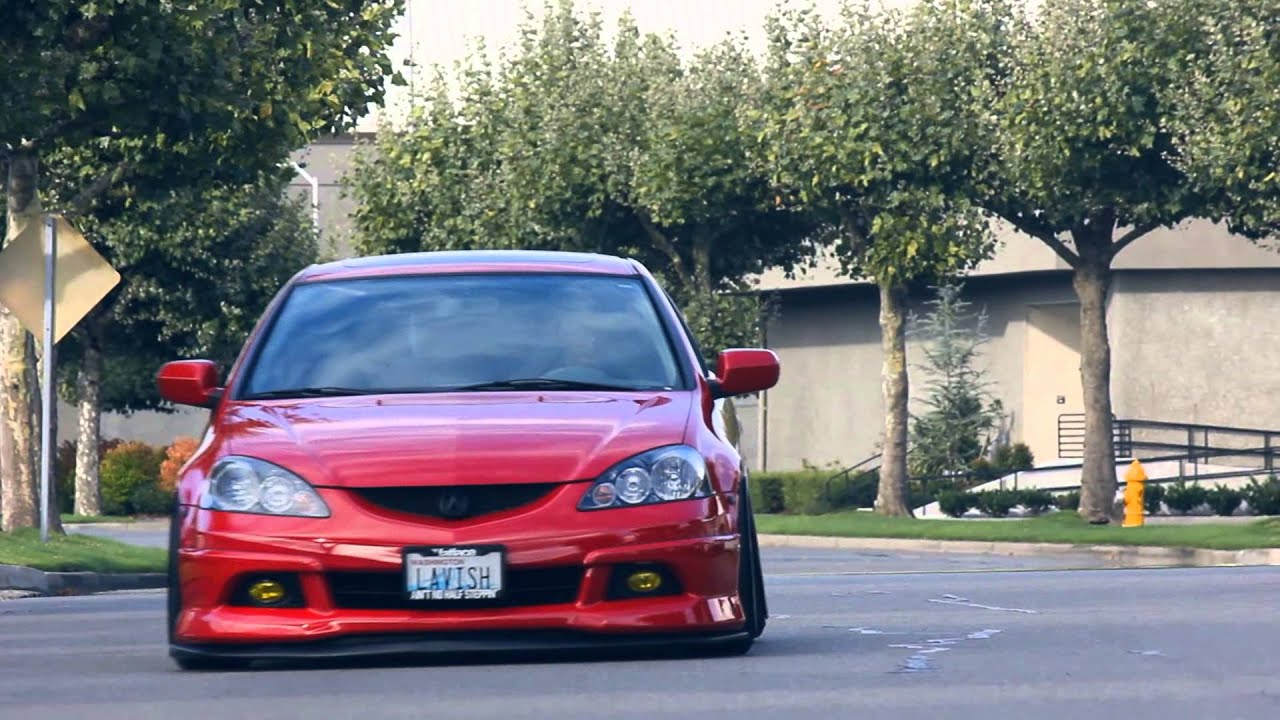 Kevin's Lavish Bagged DC5 Acura RSX Type-S