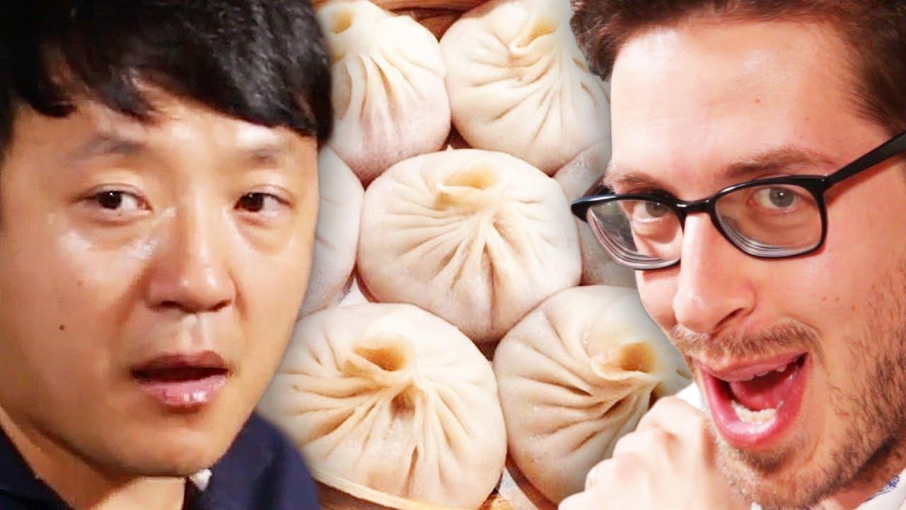 The Try Guys 400 Dumpling Mukbang ft. Strictly Dumpling