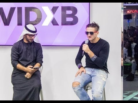 Fireside Chat With Casey Neistat in Dubai