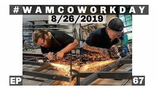 A DAY IN THE SHOP | #WAMCOWORKDAY | EP. 67