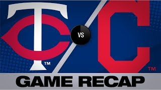 Sano's grand slam powers Twins past Indians   Twins-Indians Game Highlights 9/14/19