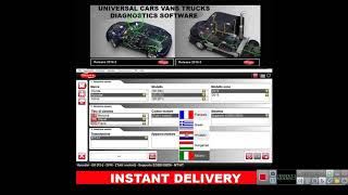 DELPHI 2016 00 Universal Cars Vans Trucks Diagnostics Software with Activation