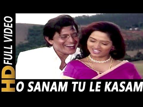 O Sanam Tu Le Kasam | Kumar Sanu, Anuradha Paudwal | Hatyara 1998 Songs | Mithun Chakraborty
