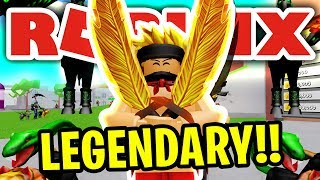 I BOUGHT THE MOST *POWERFUL* SWORD IN THE GAME!! | ROBLOX WARRIOR SIMULATOR (NEW UPDATE)