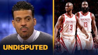 Matt Barnes defends James Harden about NBA referee Scott Foster