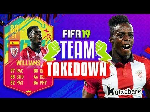88 INAKI WILLIAMS TEAM TAKEDOWN!!! HARDEST EPISODE YET - FIFA 19 ULTIMATE TEAM