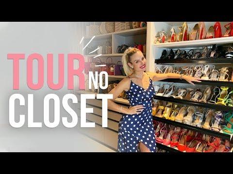 TOUR NO CLOSET! | Layla Monteiro