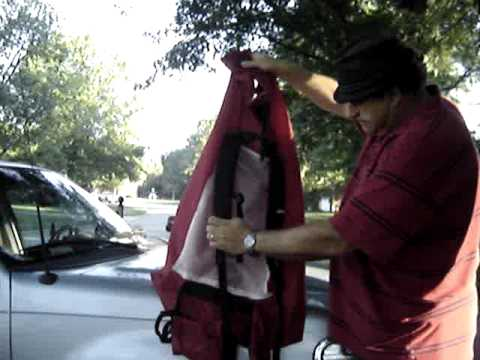 Wenzel Starlite tent mods homemade backpack and quilt & Wenzel Starlite tent mods homemade backpack and quilt - YouTube