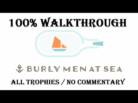 BURLY MEN AT SEA - 100% Walkthrough (Platinum Trophy Guide)