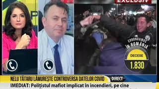 Nelu Tătaru lămurește situația numărului de infectări Covid