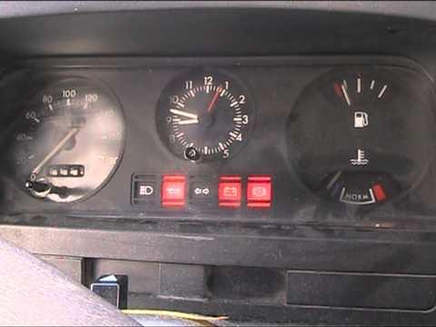 Ford Transit Van >> 1992 Ford Transit start up - YouTube