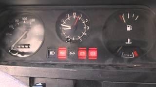 1992 Ford Transit start up