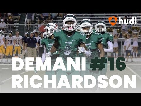 Demani Richardson | Waxahachie Football | Ultimate Highlights