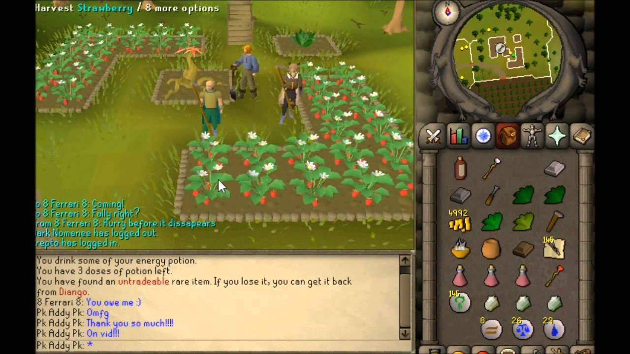 Runescape 2007 Race For The Sythe!!! Old Memory's [COMMENTARY] Old School  OSRS