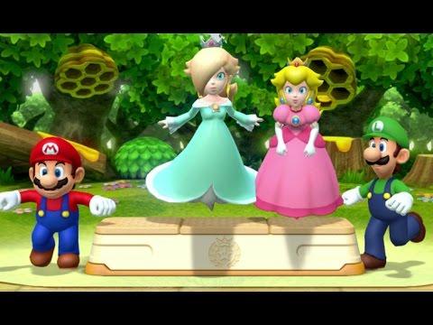 Mario Party 10 - Peach amiibo Board (2 Player amiibo Party Mode)