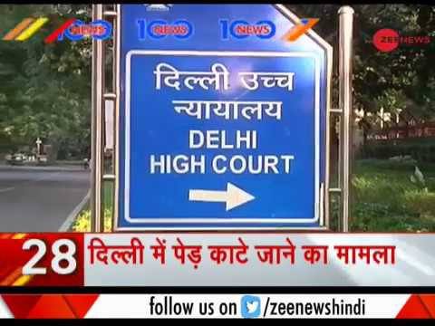 News 100: Delhi High Court to hear plea today against felling of trees