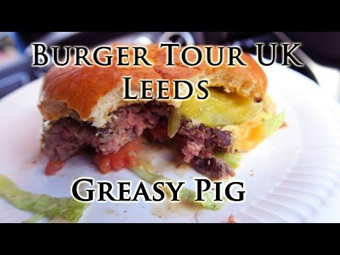 Greasy Pig | Burger Tour Uk | Leeds | Burger Review | Food Vlog | JcVlogz
