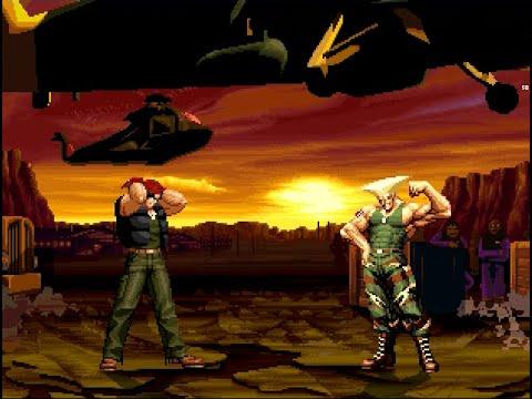 [KOF VS.Street Fighter] Ralf Jones VS. Guile