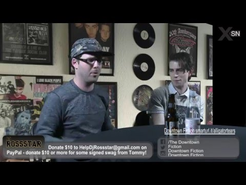 #AlligatorTears DJRossstar LIVE Chat w/ Cameron Leahy—The Downtown Fiction