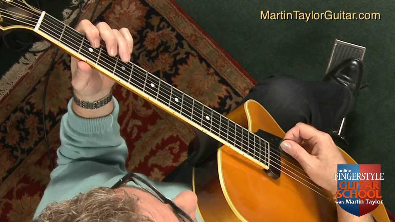jazz guitar with martin taylor 2 5 1 progression youtube. Black Bedroom Furniture Sets. Home Design Ideas