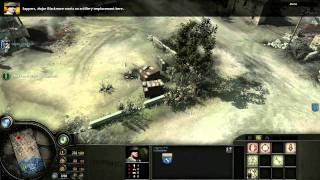 Company of Heroes: Opposing Fronts  British Campaign  Mission 1 1/3   720p HD HQ