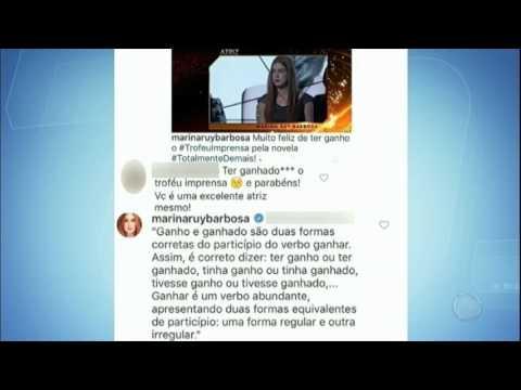 Hora da Venenosa: Marina Ruy Barbosa rebate fã após ser corrigida em rede social