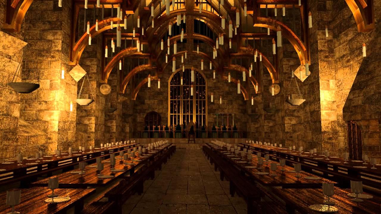Hogwarts Great Hall Youtube